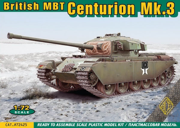 1/72 ACE MODELS CENTURION MK.3 KOREAN WAR ACE72425