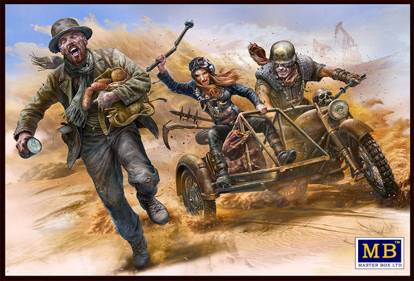 "1/35 MASTER BOX DESERT BATTLE SERIES ""SKULL CLAN - TO CATCH A THIEF"" MB35140"
