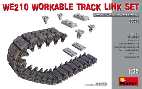 1/35 MINIART WE210 WORKABLE TRACK LINK SET MA35323