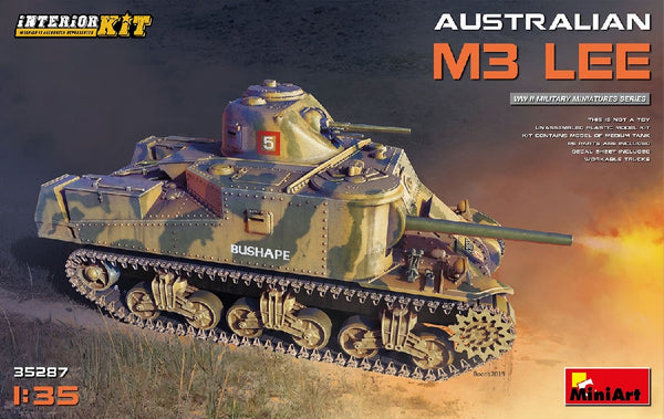 1/35 MINIART AUSTRALIAN M3 LEE INTERIOR KIT MA35287