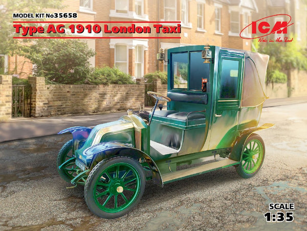 1/35 ICM TYPE AG 1910 LONDON TAXI ICM35658