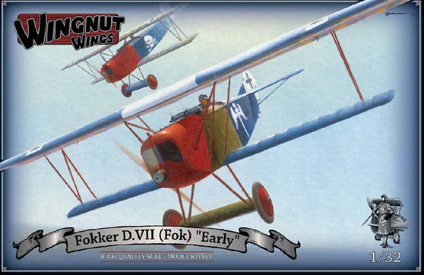 1/32 WINGNUT WINGS FOKKER D.VII (FOK) EARLY