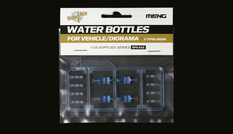 1/35 MENG MODERN WATER BOTTLES LARGE AND SMALL