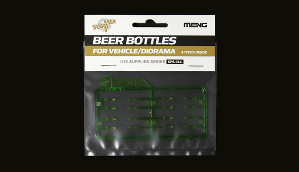1/35 MENG BEER BOTTLES
