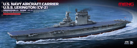 1/722 MENG US NAVY AIRCRAFT CARRIER USS. LEXINGTON CV-2 PS-002