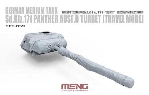 1/35 MENG SD.KFZ. 171 PANTHER AUSF D TURRET (TRAVEL MODE)  SPS-059