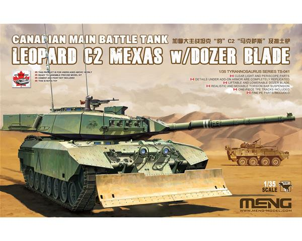 1/35 MENG LEOPARD C2 MEXAS WITH DOZER BLADE TS-041