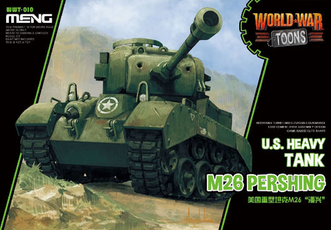 MENG WORLDS WAR TOONS US M-26 PERSHING HEAVY TEANK WWT-010