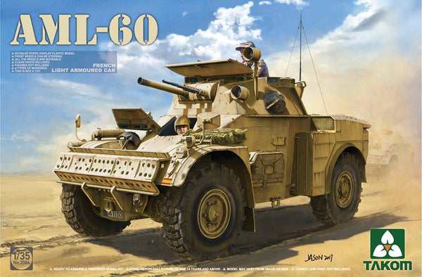1/35 TAKOM AML-60 FRENCH LIGHT ARMOURED CAR TAK2084