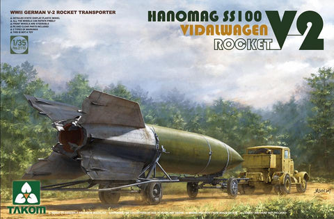 1/35 TAKOM V-2 ROCKET AND HANOMAG SS100 TAK2110