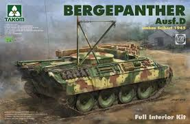 1/35 TAKOM BERGEPANTHER AUSF D FULL INTERIOR KIT TAK2102