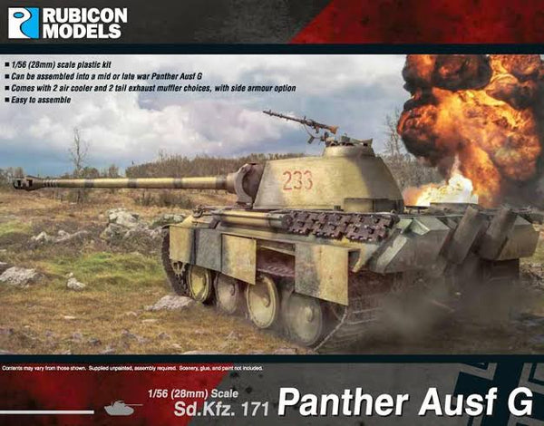 RUBICON PANTHER AUSF G 28MM RU28G04