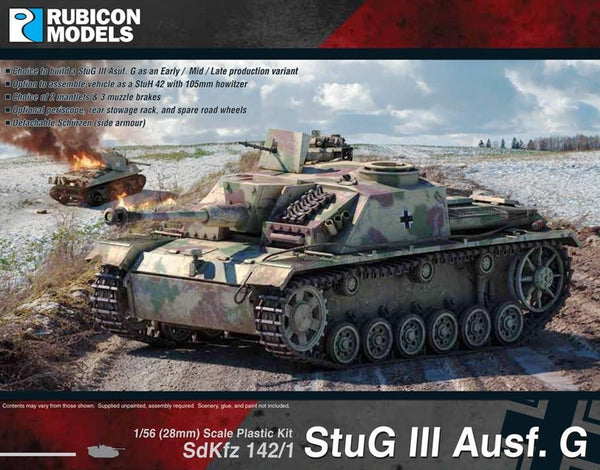 STUG 3 AUSF G EARLY/MID/LATE RU28G06