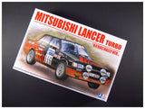 1/24 BEEMAX AOSHIMA MITSUBISHI LANCER TURBO 1984 RAC RALLY VERSION B24022