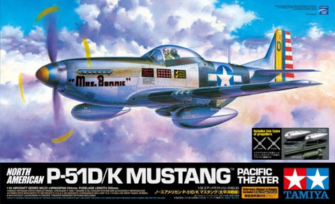1/32 P-51D/K MUSTANG PACIFIC THEATRE