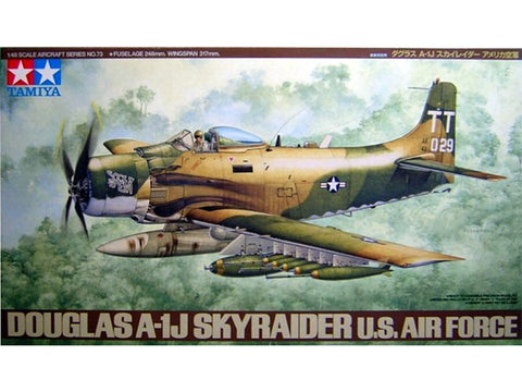 "1/48 A-1J SKYRAIDER "" US AIR FORCE"""