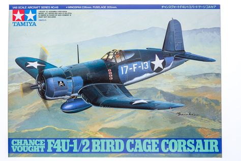 1/48 CHANCE VOUGHT F4U-1/2  BIRDCAGE CORSAIR 74-T61046