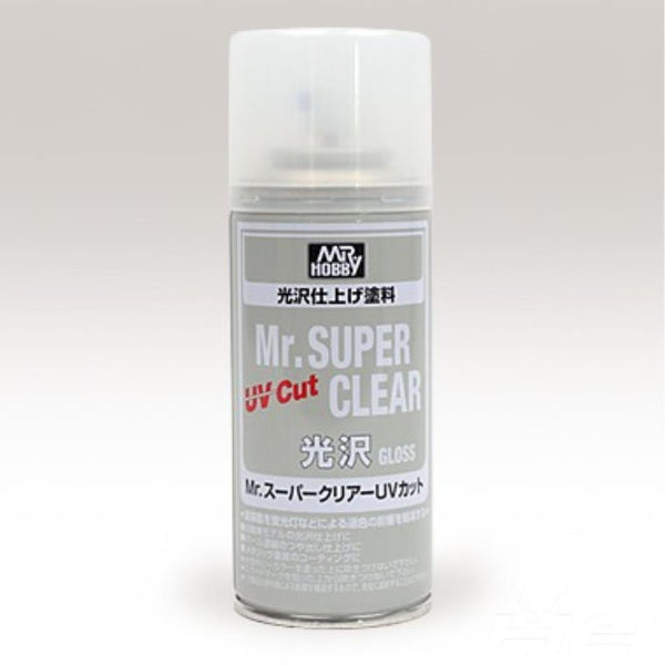 MR SUPER CLEAR UV CUT FLAT SPRAY GN B523