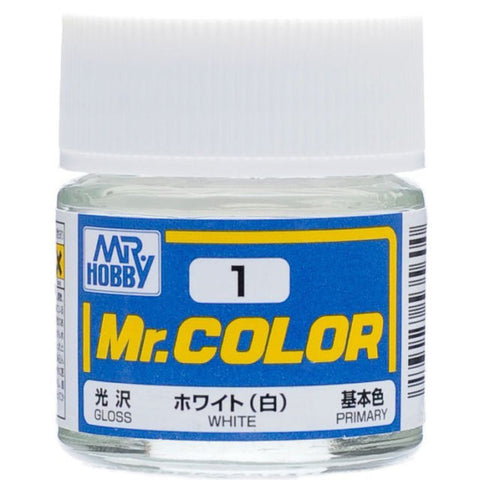 MR COLOUR   GLOSS  WHITE   GN C001