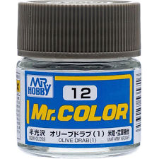 MR COLOUR SEMI  GLOSS  OLIVE DRAB 1 GN C012