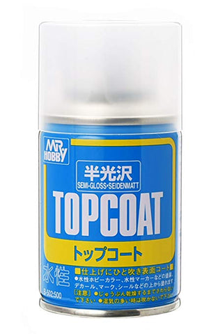MR TOPCOAT SEMI GLOSS CLEAR SPRAY GN B502