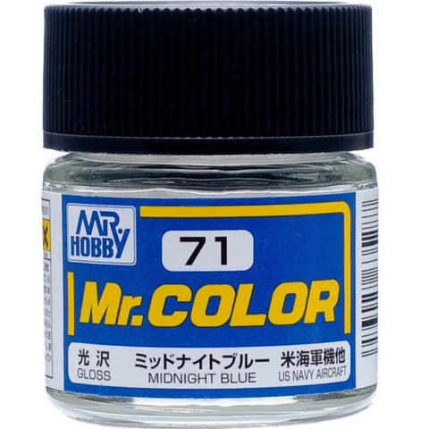 MR COLOUR  GLOSS MIDNIGHT BLUE GN C071