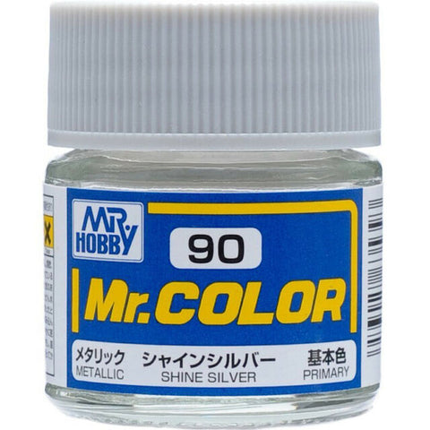 MR COLOUR  METALLIC  SHINE SILVER GN C090