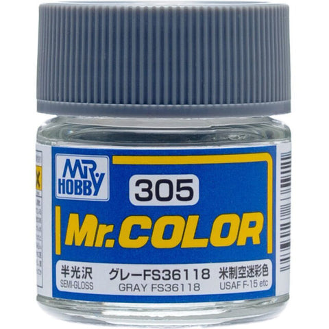 MR COLOUR SEMI  GLOSS GREY FS36118 GN C305