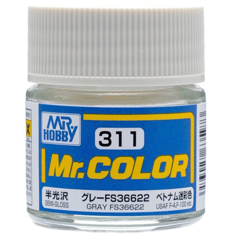 MR COLOUR SEMI GLOSS GREY FS36622 GN C311