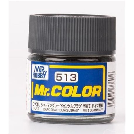 "MR COLOR DARK GREY ""DUNKEL GRAU"" 10ML GN C513"