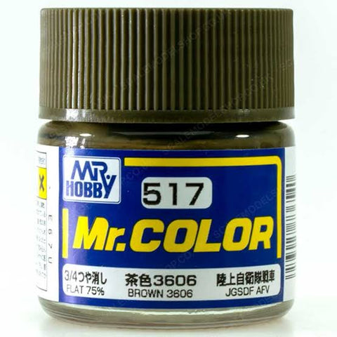 MR COLOR BROWN 3606 10ML GN C517