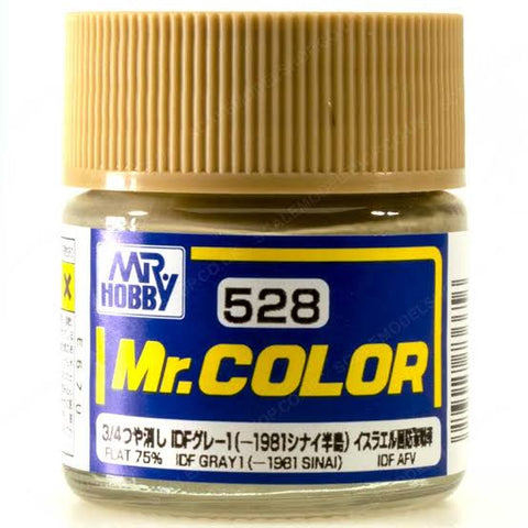 MR COLOR IDF GREY 1 1981 SINAI 10ML GN C528