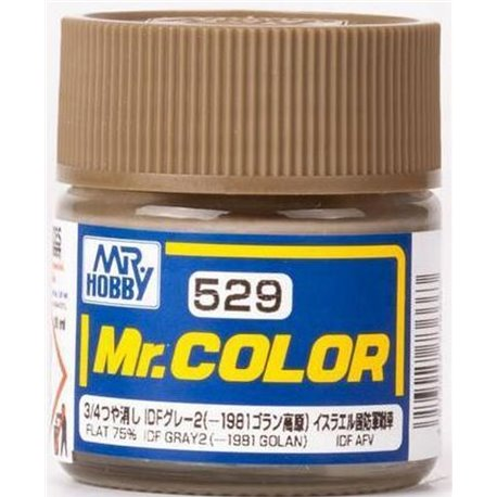 MR COLOR IDF GREY 2 1981 GOLAN GN C529