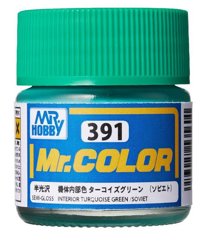 MR COLOR RUSSIAN INTERIOR TURQUOISE GREEN 10ML GN C391