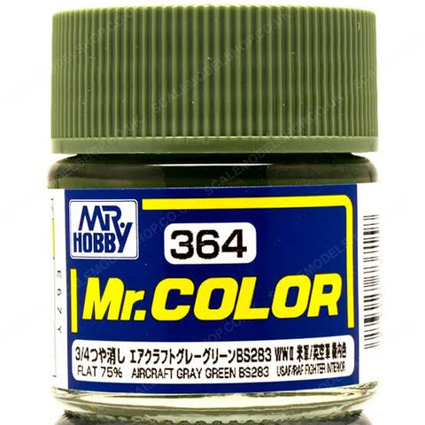 MR COLOR AIRCRAFT GRAY GREEN BS283 10ML GN C364