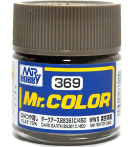 MR COLOR DARK EARTH BS381C/450 10ML GN C369