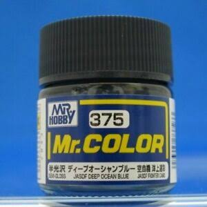 MR COLOR JASDF DEEP OCEAN BLUE 10ML GN C375