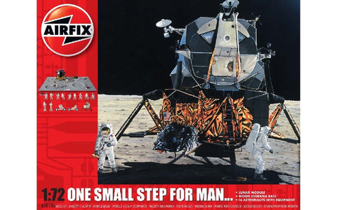 "1/72 AIRFIX ""ONE SMALL STEP FOR MAN"" DIORAMA SET A50106"