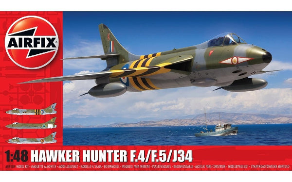 1/48 AIRFIX HAWKER HUNTER F.4/F.5/J34 A09189