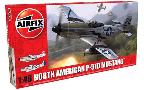 1/48 AIRFIX NORTH AMERICAN P-51D MUSTANG AO5131