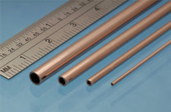ALBION ROUND COPPER TUBE 4.0MM X 305MM X 0.45MM WALL (3 PCES) CT4M