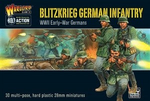 BOLT ACTION - EARLY WAR GERMAN PLASTIC INFANTRY WGB-WM-02