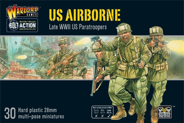 BOLT ACTION US AIRBORNE (PLASTIC) BOX SET (30 FIGURES) 402013101