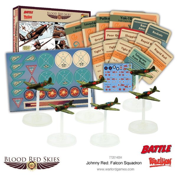 BLOOD RED SKIES JOHNNY RED FALCON SQUADRON 772014004