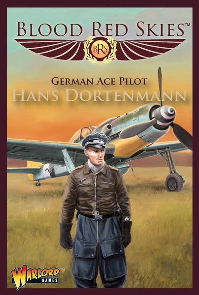 BLOOD RED SKIES: GERMAN ACE HANS DORTENMANN 772211005