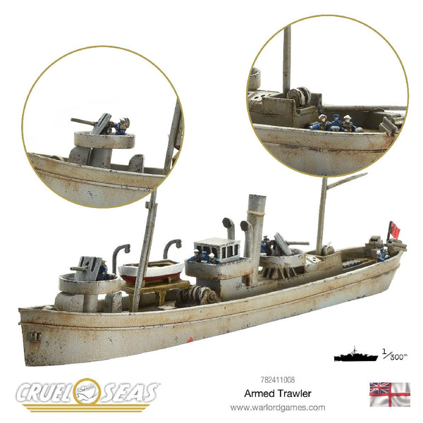 CRUEL SEAS: BRITISH ARMED TRAWLER 782411008