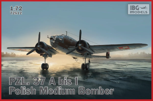 1/72 IBG PZL 37 A BIS I POLISH MEDIUM BOMBER IBG72512