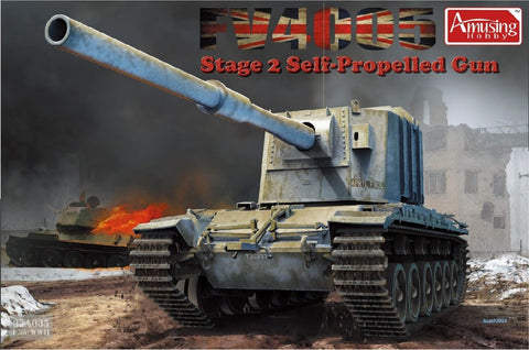 1/35 AMUSING HOBBY FV4005 STAGE 2 BRITISH SELF PROPELLED GUN 35A029