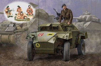 1/35 BRONCO MODELS WW2 BRITISH HUMBER MK.1 SCOUT CAR AND AFV CREW SET CB35009SP