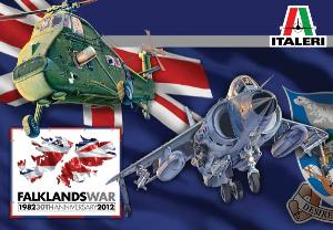 1/72 ITALERI WESSEX AND SEA HARRIER FALKLANDS ANNIVERSARY KIT
